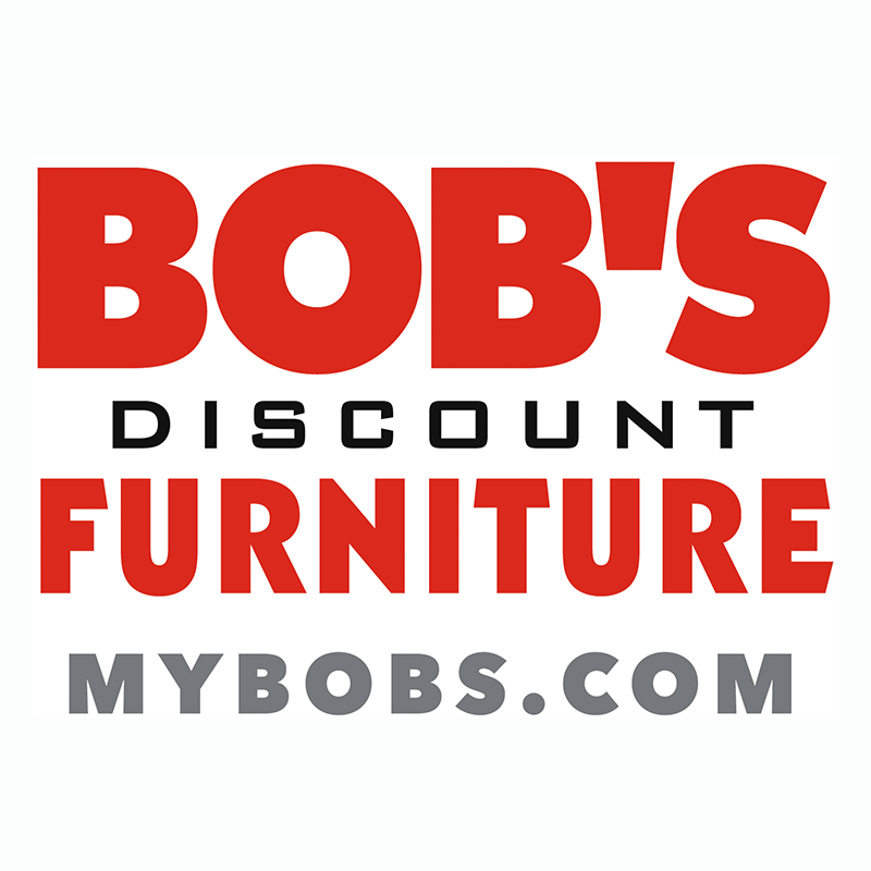 1. Bob's Furniture Logo