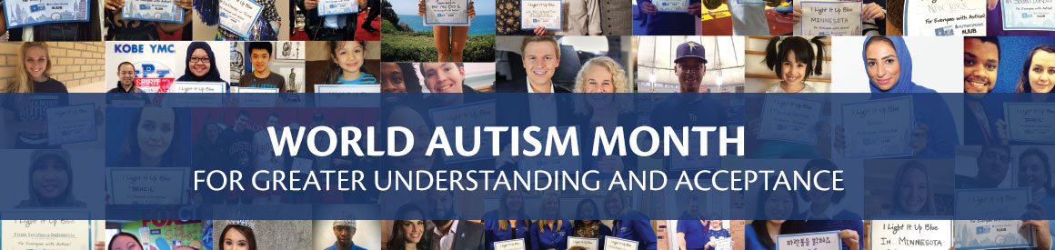 Support Autism Speaks - Light It Up Blue 2017