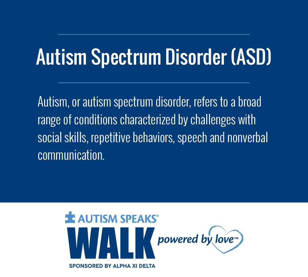 Brand-new Autism Speaks Walk BU47